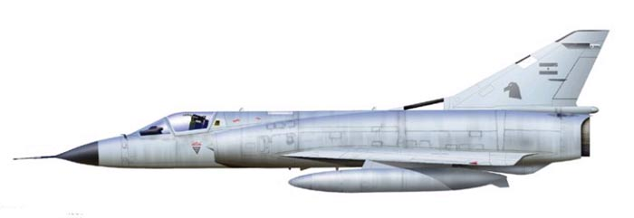 AMD Mirage IIIEA Мираж/Даггер IAI