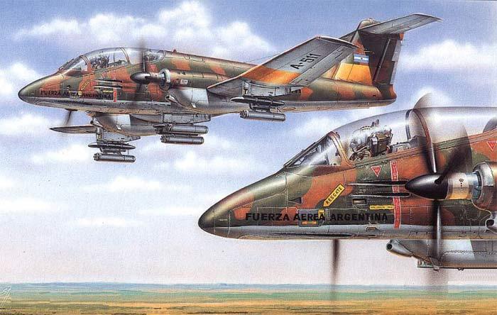IA-58A Пукара, IA-58A Pucara