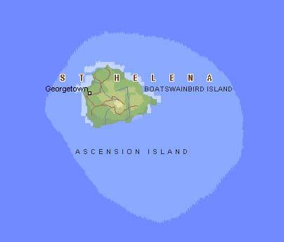 Остров Святой Елены / Остров Вознесения