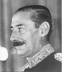 главнокомандующий аргентинской армией генерал Жорже Рафаэль Видела / Videla, Jorge Rafael